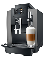 Jura WE8 Dark Inox koffiemachine
